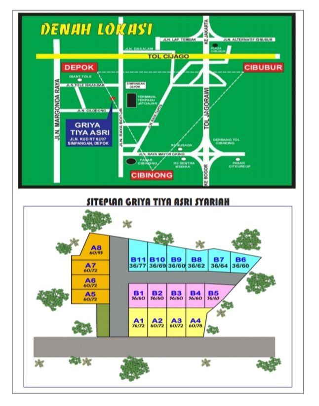 Griya Tiya Asri site